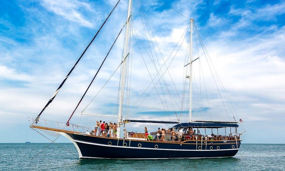 Charter 81' Gulet in Phuket, Thailand