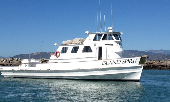passenger boat fishing charter in ventura getmyboat