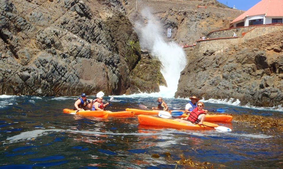 Tandem Kayak Rental in Ensenada, Baja California