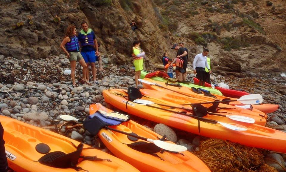 Explore La Bufadora, Baja California on a Single Kayak
