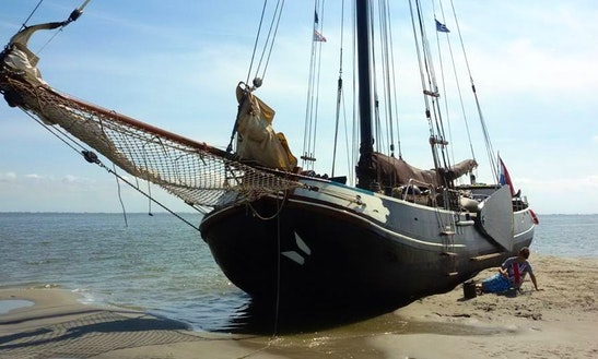 Crewed Sailing Charter Aboard The Oldest Sailing Barge