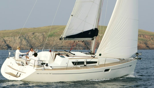 Sun Odyssey 36i Sailing Yatch Charter In Pireas, Greece