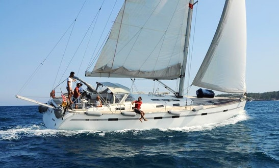 Charter 55' Cruising Monohull In Antalya, Turkey