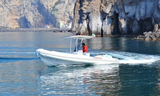 Rent 22' Rigid Inflatable Boat D.680 In Sorrento, Italy