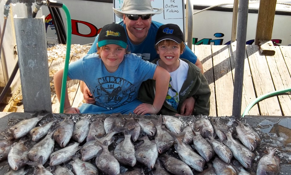Charter fishing in clearwater florida with captain tom for Clearwater charter fishing