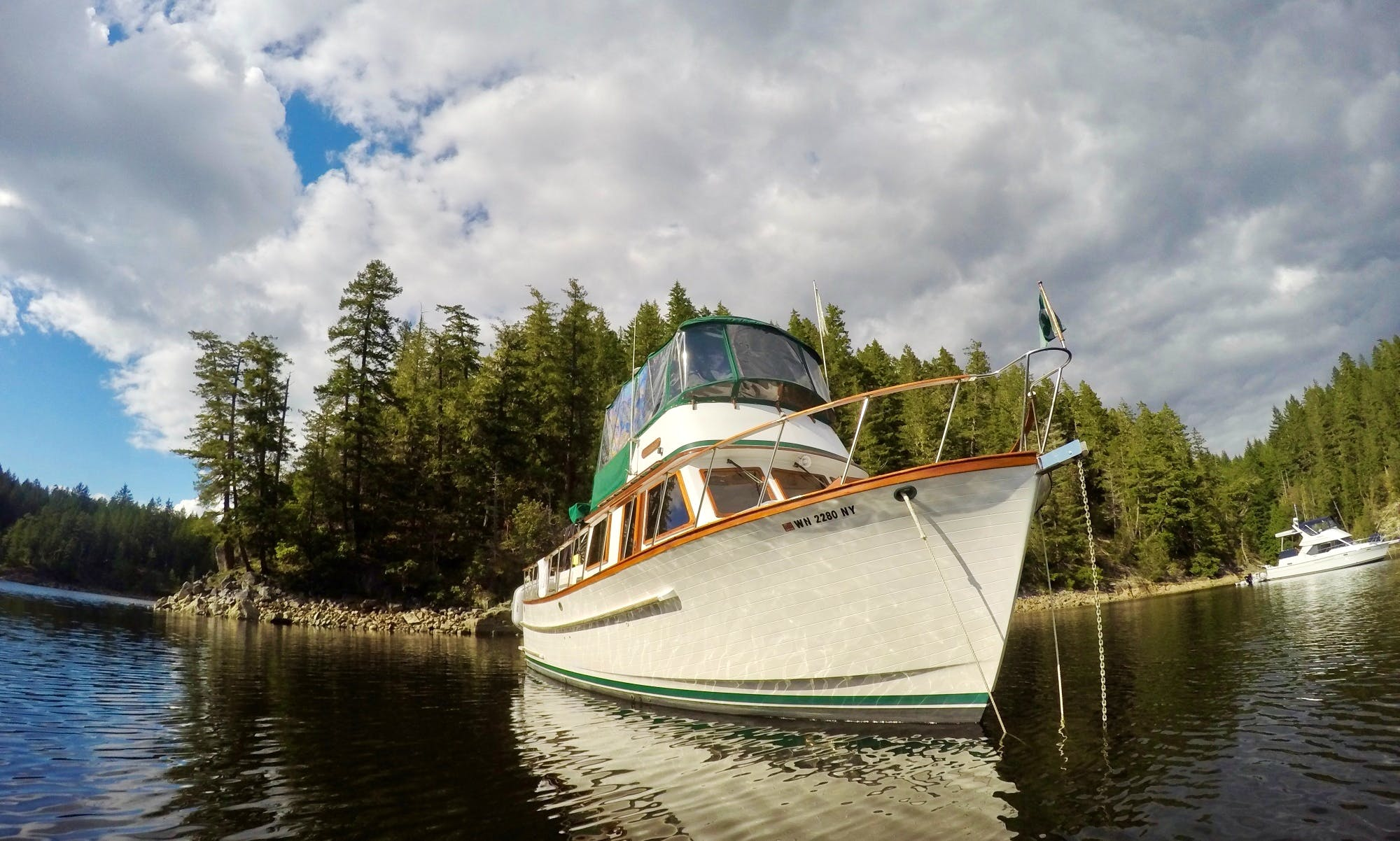 40' Trawler Charter in Friday Harbor, Washington