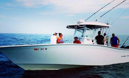 Center Console Fishing Charter In Pensacola Beach