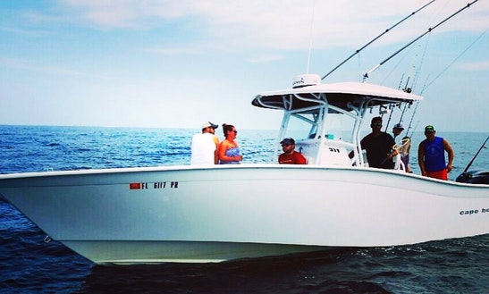 Center Console Fishing Charter In Pensacola Beach