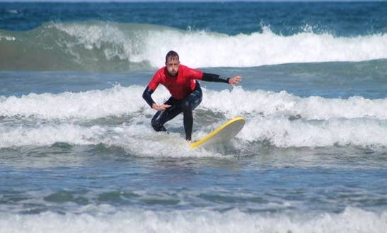 Enjoy Surf Lessons In Canarias, Spain