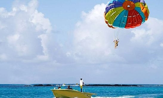 Enjoy Parasailing At Makronissos Beach, Ayia Napa