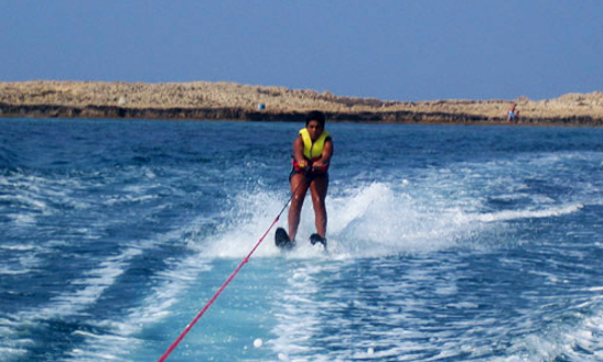 Enjoy Water Skiing At Makronissos Beach, Ayia Napa