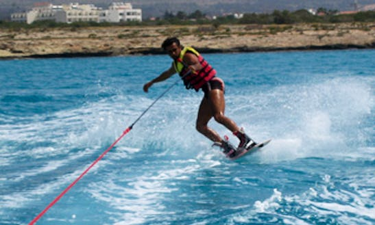 Enjoy Wakeboarding At Makronissos Beach, Ayia Napa