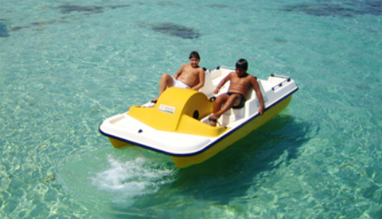 Rent Paddleboats At Makronissos Beach, Ayia Napa