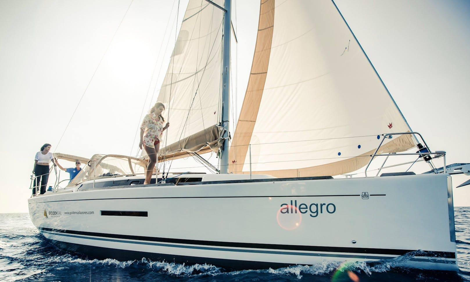 "Charter 37' ""Allegro"" Sailboat in Azores, Portugal"
