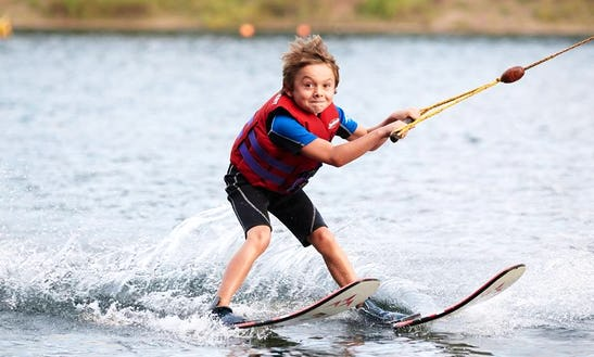 Enjoy Water Skiing Lessons In Langenfeld, Nordrhein-westfalen