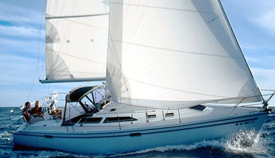 Charter 34' Catalina Sailboat With 2 Cabins In San Vincenzo, Italy