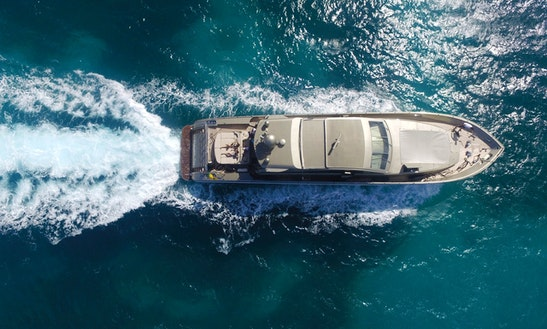 Leopard Yacht 88 Ft In St Martin