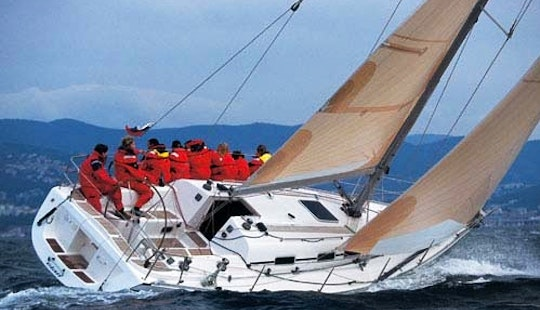 Charter 40' Elan Sailboat In San Vincenzo, Italy