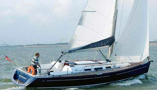 Enjoy San Vincenzo, Italy On 40' Dufour Sailboat