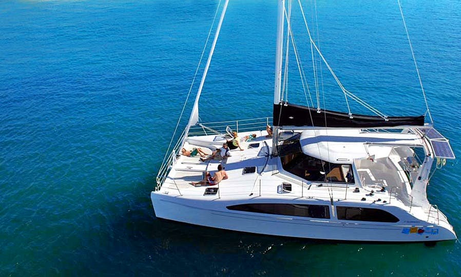 Seawind 38ft Catamaran for rent in Krabi, 19 guests for a day / 6 for a night