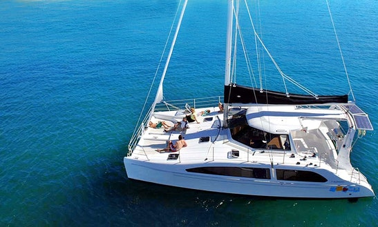 Seawind 38ft Catamaran For Rent In Phuket Or Krabi, 19 Guests For A Day / 8 For A Night