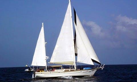 """53ft """"Blithe Spirit II"""" Irwin 52 Ketch Sloop in British Virgin Islands"""