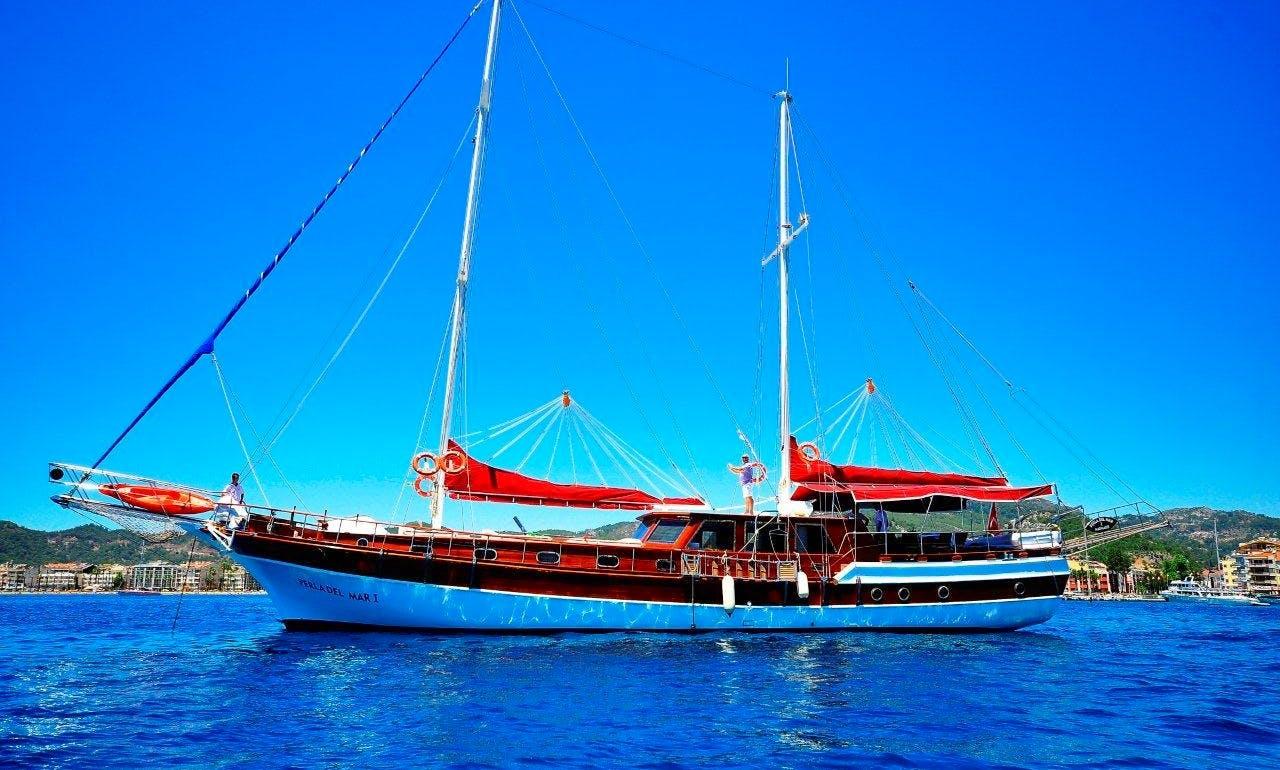 Perla Del Mar 1 Sailing Gulet in Muğla/Marmaris