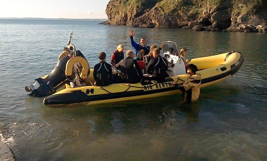 Enjoy Diving Trips & Courses In Milford Haven, Wales