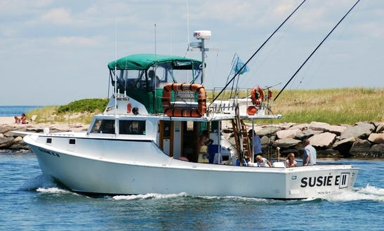 Charter On 48ft Sportfisherman Boat In Montauk, New York