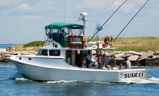 Charter On 48ft Sportfisherman Boat In Montauk, New York