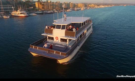 Power Catamaran Rental In Newport Beach