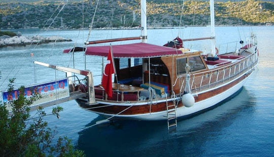 Charter 59' Gulet In Antalya, Turkey