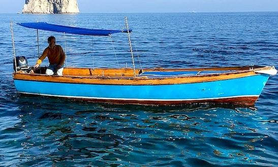 Charter Lancia Caprese Dinghy In Capri, Italy