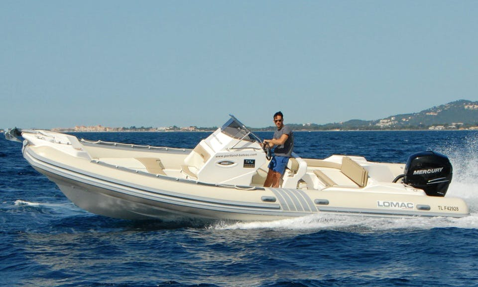 Rent 26' Rigid Inflatable Boat in Hyères, France