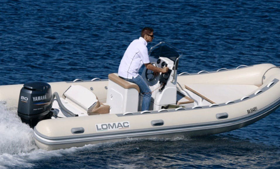 Rent 19' Rigid Inflatable Boat in Hyères, France