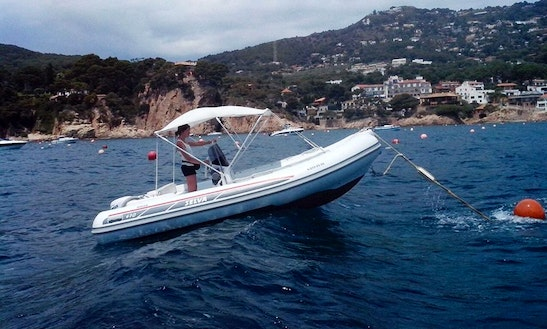 Rent 15' Rigid Inflatable Boat In Girona, Spain