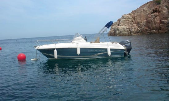 Rent A 18' Center Console In Girona, Spain