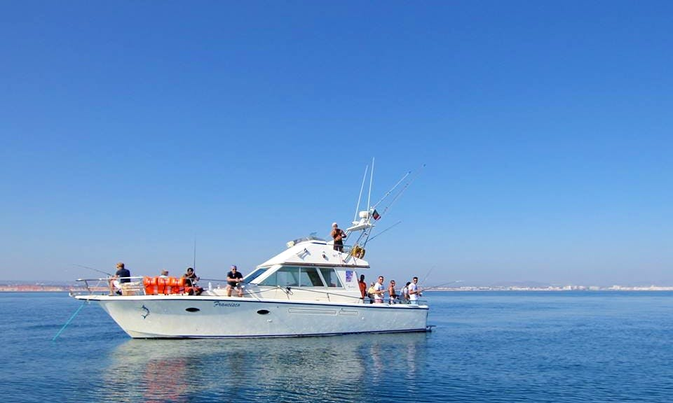 Big Game and Reef Fishing Charter in Quarteira
