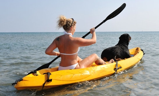 Tandem Kayak Rental In Key Largo, Florida