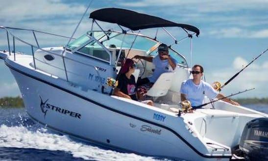 Bora Bora Fishing Charter On 22ft
