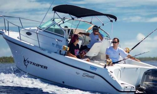 Bora Bora Fishing Charter On 22ft