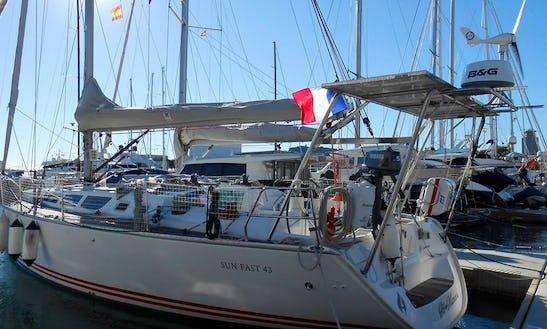 Sun Fast 43 Sailing Yacht Charter In Bandol, France
