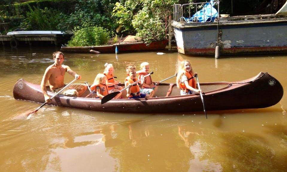 Rent Double-Wide Canoe in Eenrum, Netherlands