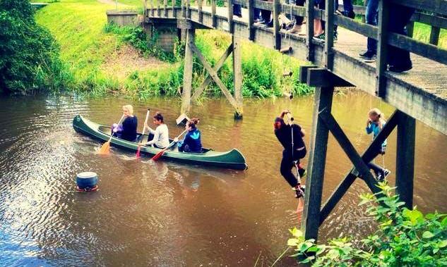 Rent Triple Canoe in Eenrum, Netherlands