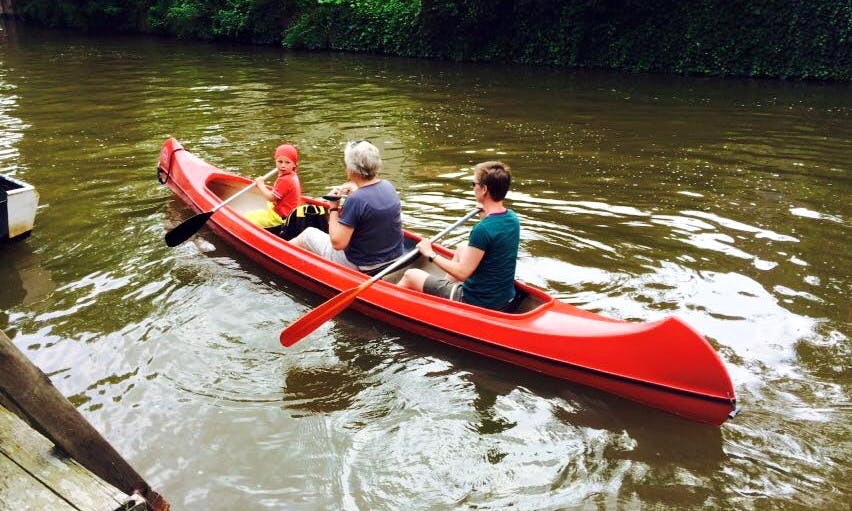 Rent a Multi-Person Canoe in Eenrum, Netherlands