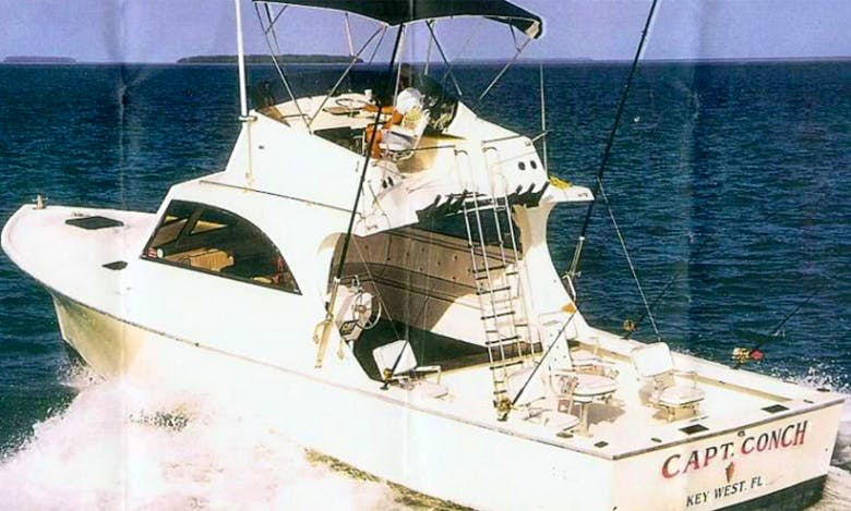 "Key West Fishing Charter On 40ft ""Capt. Conch"" Boat With Captain Richard"