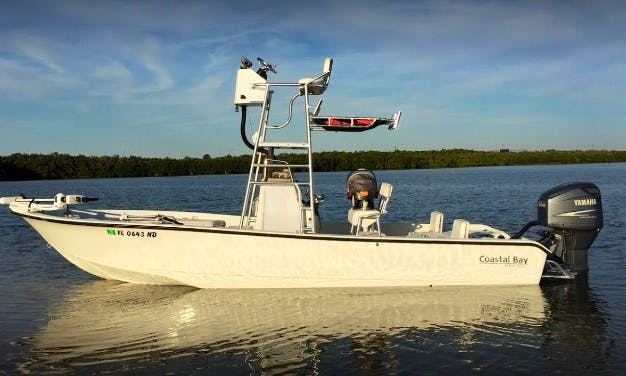 Custom 23' Dorado Limited Edition Fishing Boat in Boca Grande with Captain Robert