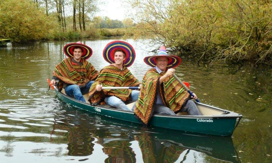 Fun Canoe Trips in Drimmelen, Netherlands