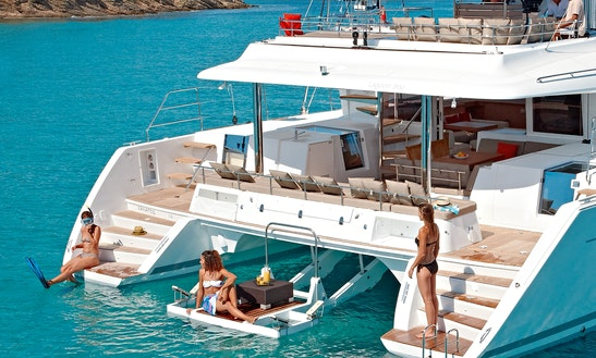 Lagoon 560 Catamaran Rental In Greece