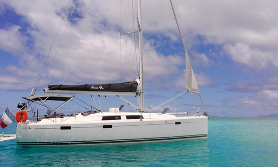 Sloop Rental In Bora Bora, Leewards Island, French Polynesia